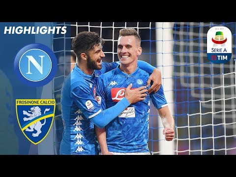 Napoli 4-0 Frosinone | Napoli Cruise To Easy Frosinone Win | Serie A