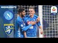 Summary: Napoli 4-0 Frosinone (8 December 2018)