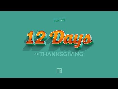 UA  12 Days of Thanksgiving Teaser