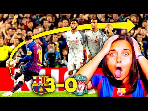 ¡MESSI ES DIOS! Reacción al BARCELONA vs LIVERPOOL de Champions (3-0) | Dúo Dinámico