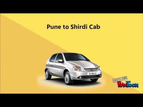 Pune To Shirdi Cab