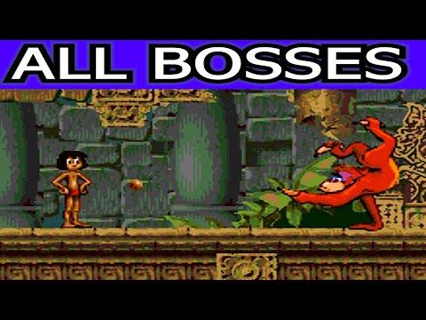Jungle Book All Bosses (No Damage)