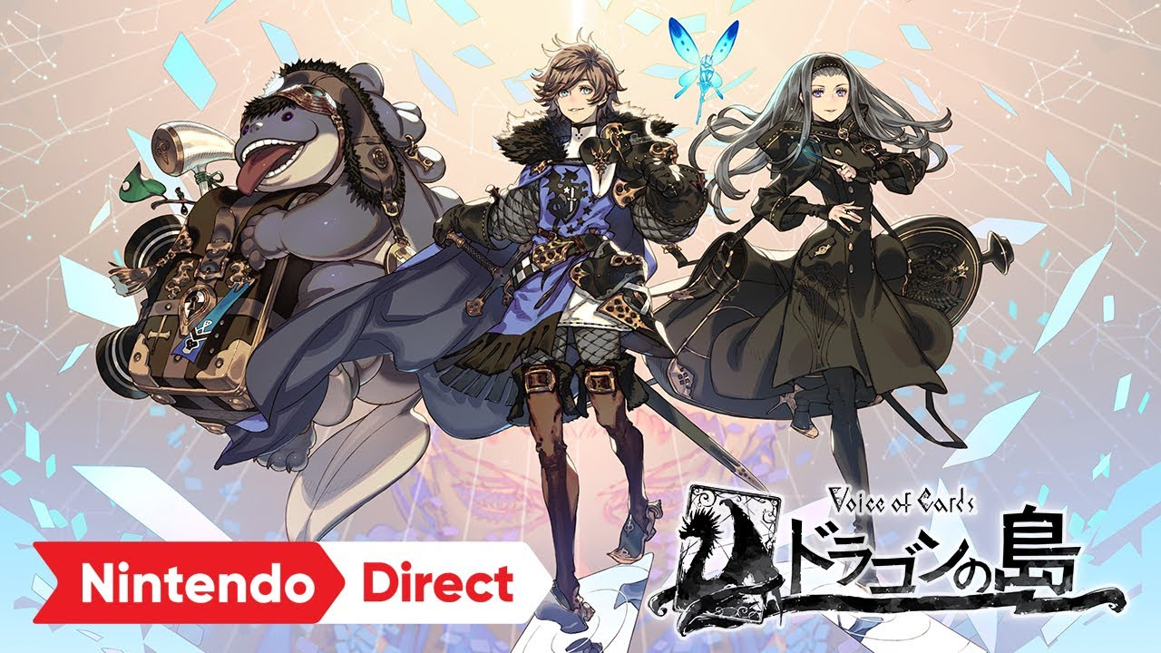 Voice of Cards ドラゴンの島 [Nintendo Direct 2021.9.24]