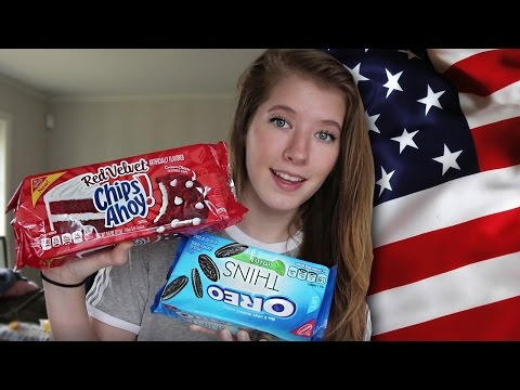 I GOT AMERICAN CANDY IN THE MAIL