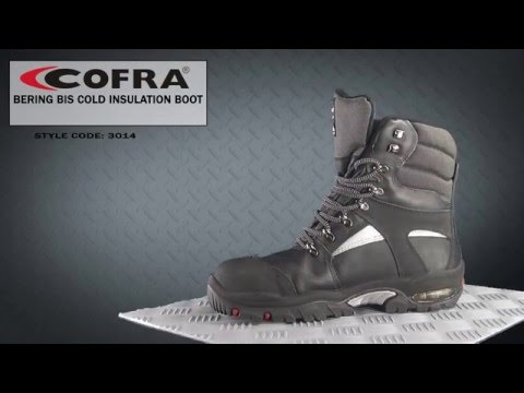 3014 Cofra Bering BIS Cold Insulation Boot - YouTube 47ba50136cb