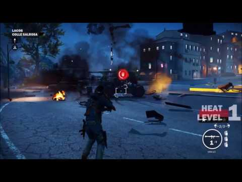 I CAN FLY LIKE A BIRD LOL !!! {Just Cause 3}