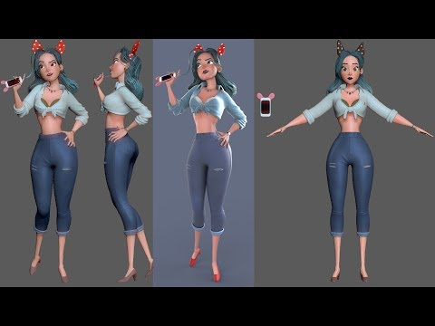 Character Modeling for Production: 02 Blockout base mesh