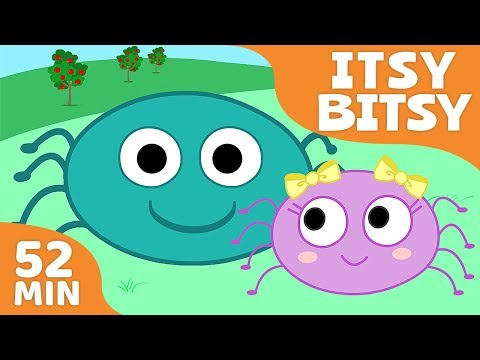 Nursery Rhymes for Kids | Songs Compilation - Itsy Bitsy Spider + More Children Songs