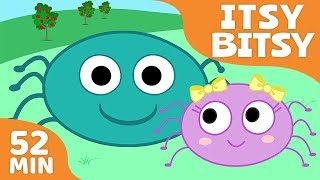 Nursery Rhymes for Kids   Songs Compilation - Itsy Bitsy Spider + More Children Songs