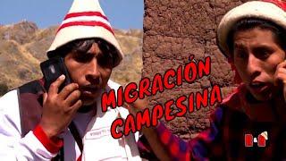 Cholo Juanito y Richard Douglas - Migración Campesina (1ra. Parte)