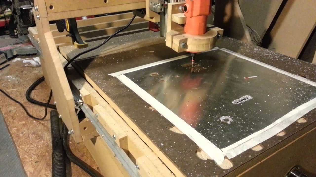 Cnc Router Sheet Metal Youtube