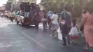 Procesión Divino Niño, Febrero 2015, San Rafael Cedros