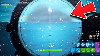 New SNOW STORM EVENT in Fortnite..