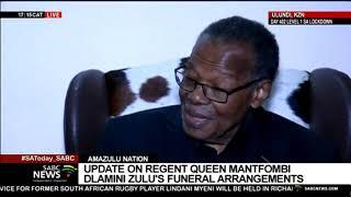Prince Mangosuthu Buthelezi speaks to SABC on the passing of AmaZulu Regent Queen Mantfombi