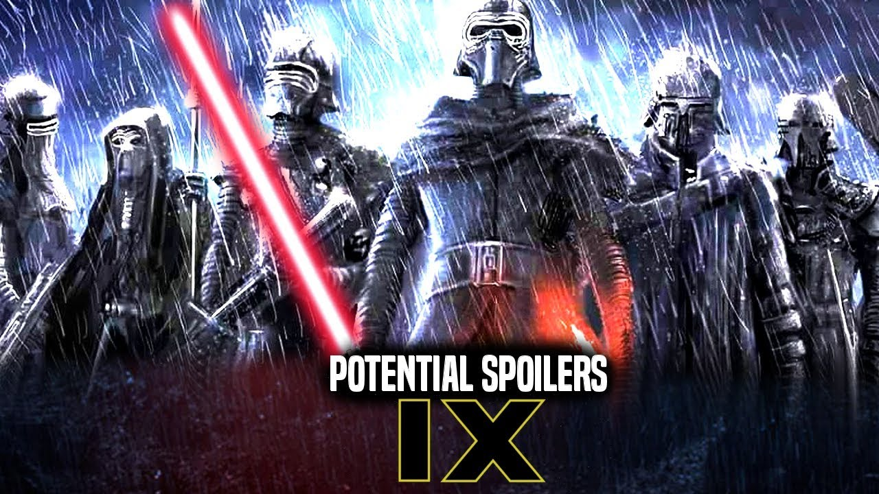 Star Wars 9 leaks: 'The Knights of Ren have been cast' for THIS new