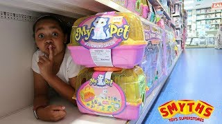 [13.06 MB] BEST HIDE AND SEEK SPOT IN SMYTHS TOYS STORE!!! Toys AndMe