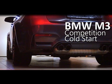 BMW M3 (F80) Competition ZCP - Cold Start Sound