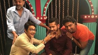 Prosenjit | Srijit | Parambrata | Dev | Funny Adda Video Promoting Zulfiqar Bengali film