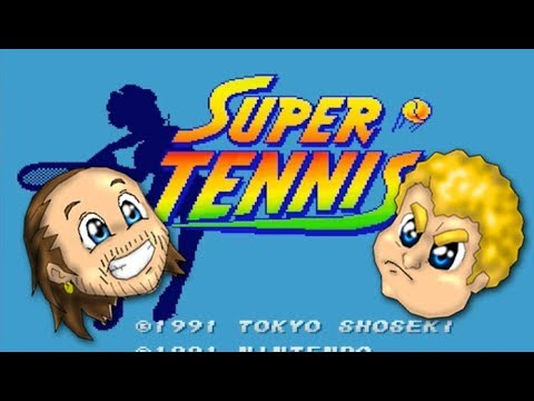 Super Tennis SNES