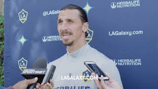 Zlatan Ibrahimovic on his legacy, the LA Galaxy's playoff hopes and his case for MLS MVP