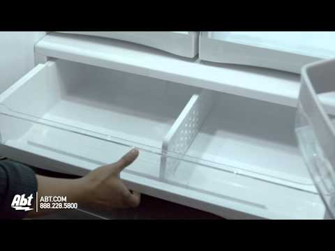 GE Stainless Steel French Door Refrigerator - GFE27G
