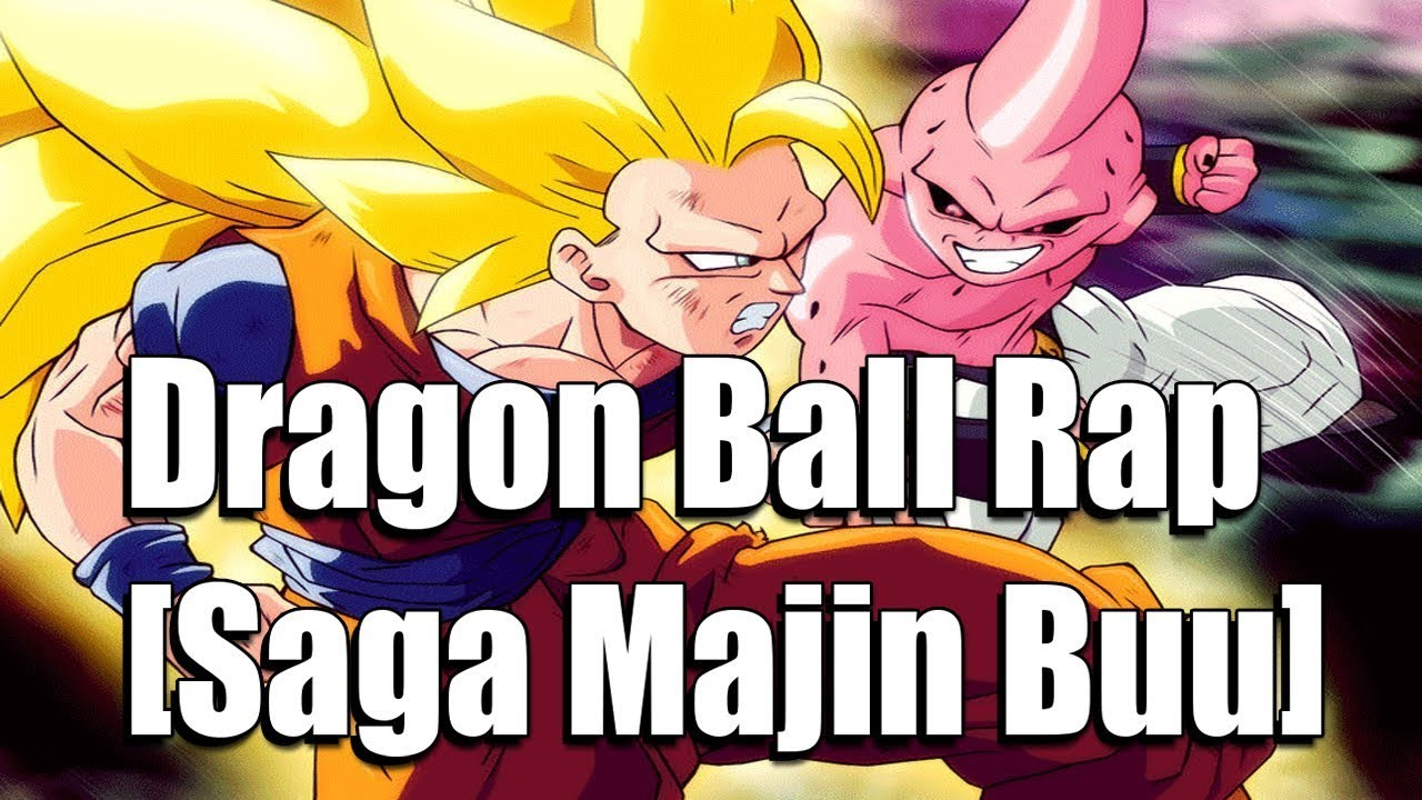 rap do dragon ball z saga majin buu
