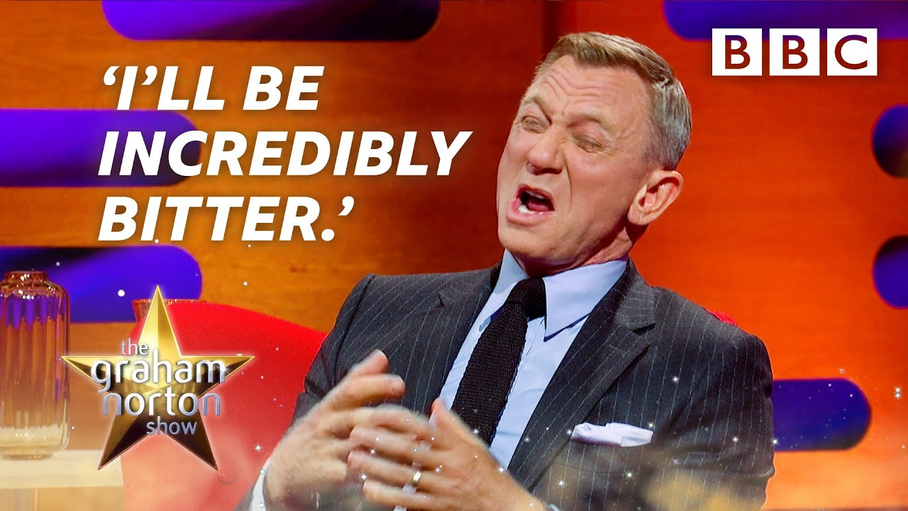 Download Daniel Craig's emotional goodbye to James Bond! 🤣 @The Graham Norton Show ⭐️ BBC