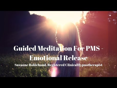 Guided Meditation For PMS or  Emotional Release During Menstrual Cycle