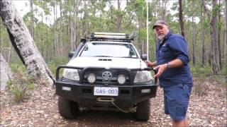 Tasmanian Offroad Adventures 4wd Tagalong Tours - Our Hilux