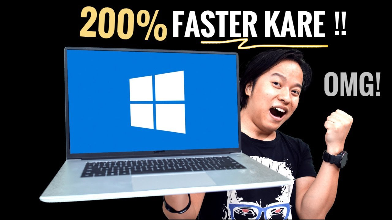 Turn on/off Windows Settings & Make PC & Laptop 200% Faster 👨🏻💻