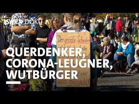 Querdenker, Corona-Leugner, Wutbürger - Woher kommt der Frust? | SWR Doku