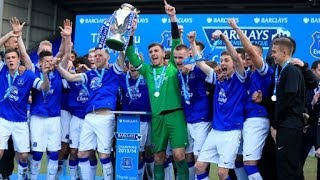 Everton Under-18s win 2013/14 Premier League title