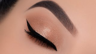 Soft Foxy Eye Makeup Tutorial for the Holidays   Holiday Glam Eye Look screenshot 1