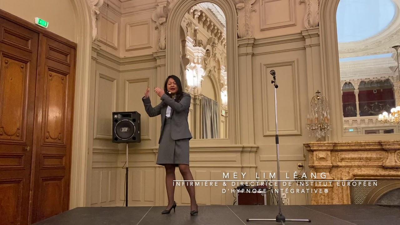 Mey LIM-LEANG en conférence pour le congrès d'Hypnose Intégrative® de Nice 2019