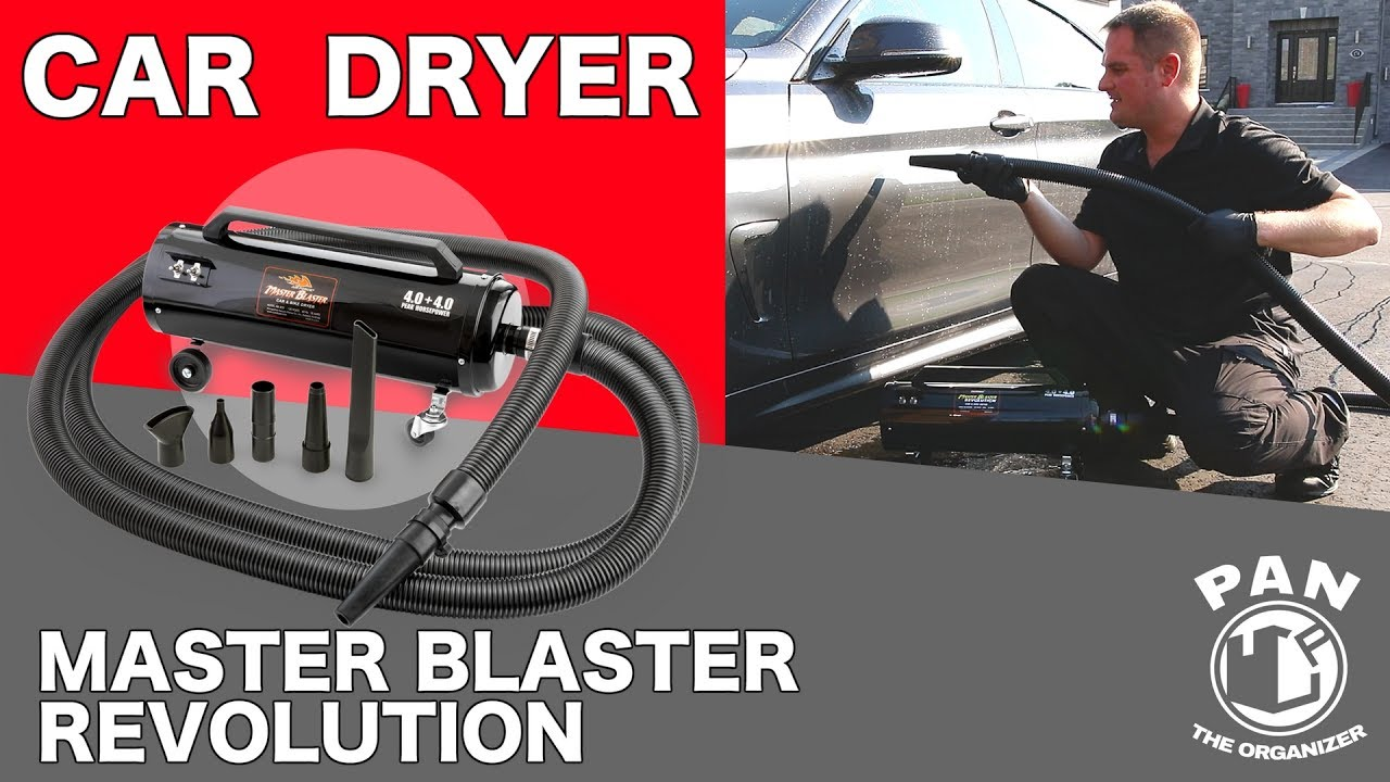 Air Force Master Blaster Revolution Car Dryer Review And