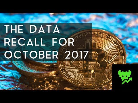 THE DATA RECALL | Cryptocurrency Analysis For October 2017