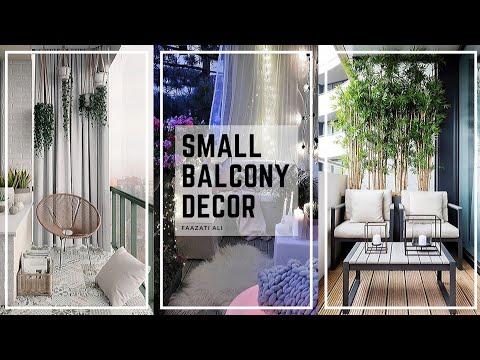 SMALL BALCONY DECOR TIPS   TOP 9 DECORATING IDEAS