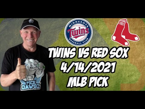 Minnesota Twins vs Boston Red Sox Game 1 4/14/21 MLB Pick and Prediction MLB Tips Betting Pick