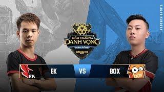 ESPORTS KINGDOM vs BOX GAMING [Vòng 5][22.09.2018] - Đấu Trường Danh Vọng Mùa Đông 2018