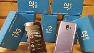 Das neue Samsung galaxy j2 core aus dem jahr 2018 mit (android 8.0 - 8.1 go)