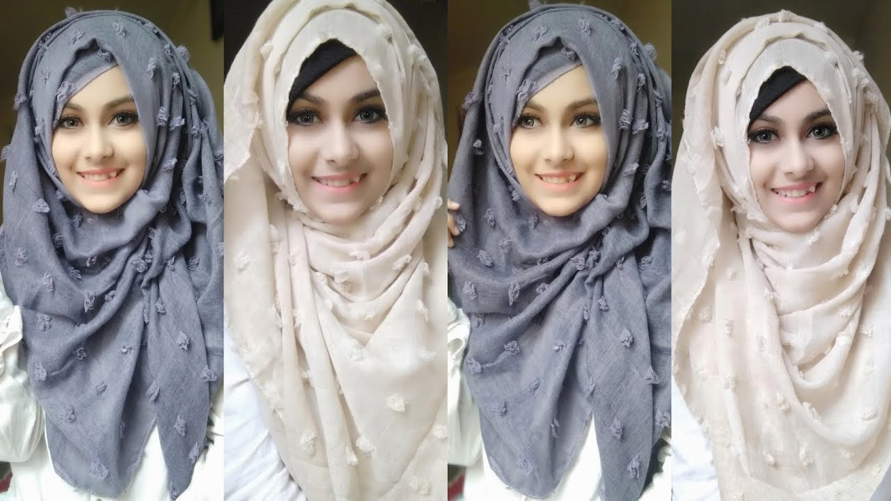 Easy And Casual Hijab Tutorial For Everyday Wear My Hijabi Girl