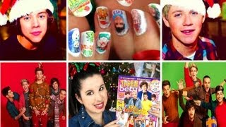 ❄One Direction Holiday Nail Decals!❄