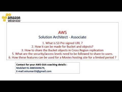 AWS Solution Architect Associate – coaching | Vskumarblogs