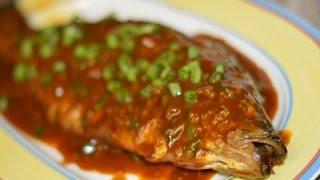 Szechuan Spicy Whole Fish (dou Ban Yu, Fava Bean Fish)
