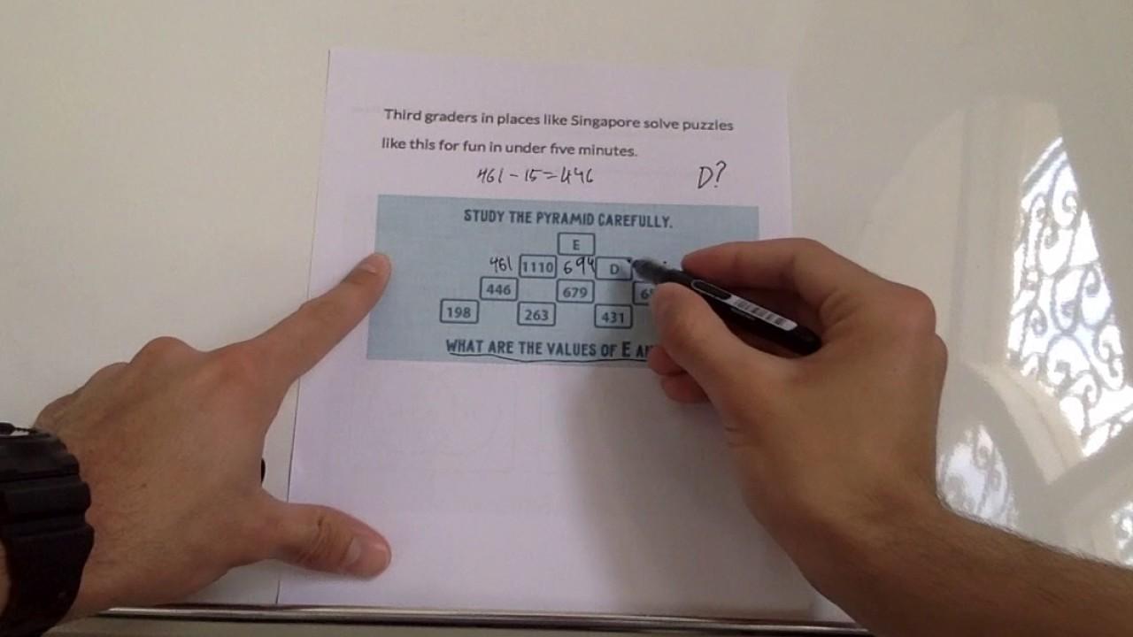 3rd Grade LOGIC Puzzle