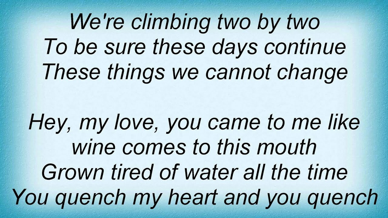 Dave Matthews Band - Two Step Lyrics - YouTube - photo#48