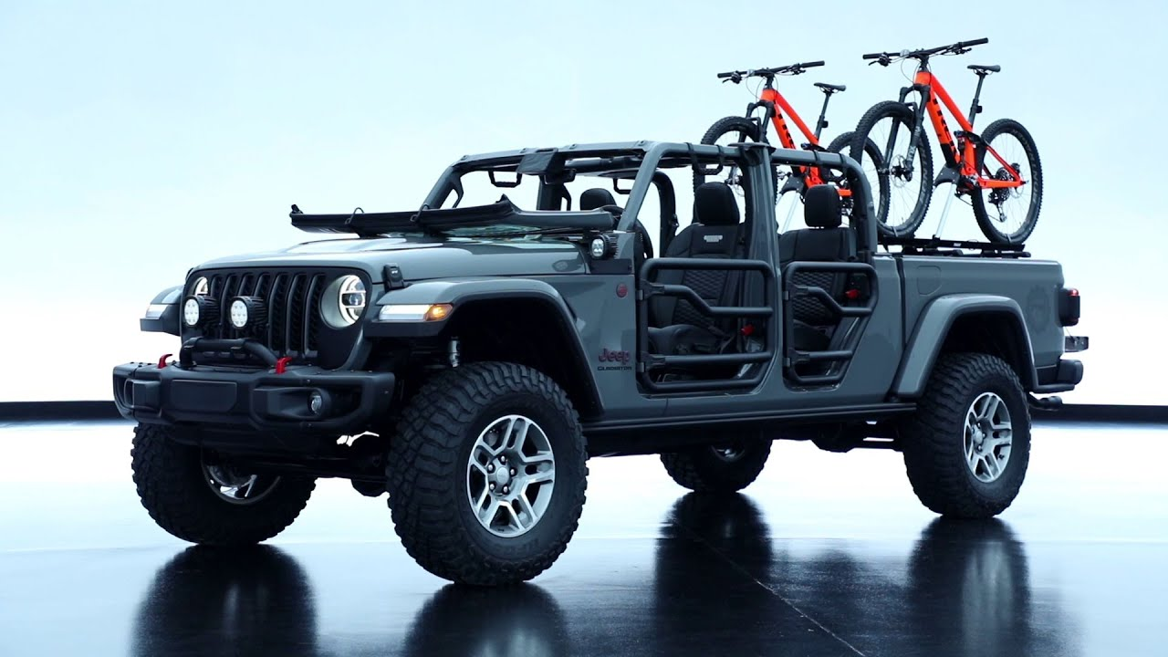 2020 Jeep Gladiator Modified By Mopar