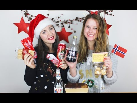 Trying Norwegian Christmas food   with CatarinaQuare