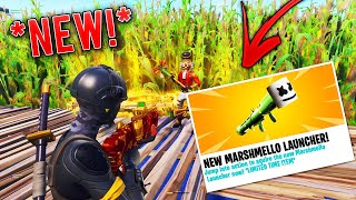 I Took His Modded Marshmello Launcher & Inventory! (Scammer Gets Scammed) In Fortnite Save The World