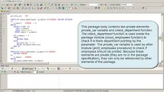 PL/SQL Oracle Tutorial - Packages - PL/SQL for beginners (Lesson 5)